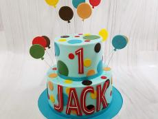 Jack with balloons