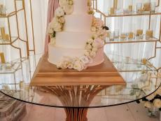 Gold Gibbes and White Roses