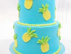 Blue and Pineapples