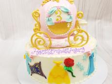 Princess inspired with Coach