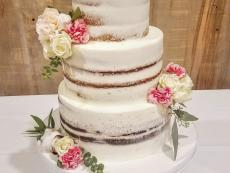 Semi naked cake Paw Paw