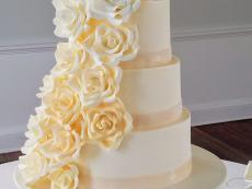 Ombre Ivory Gumpaste Roses