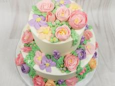 Buttercream pastel beauty